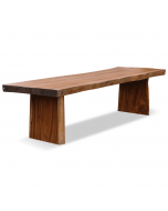 exclusieve boomstam tafel suar teak hout wang