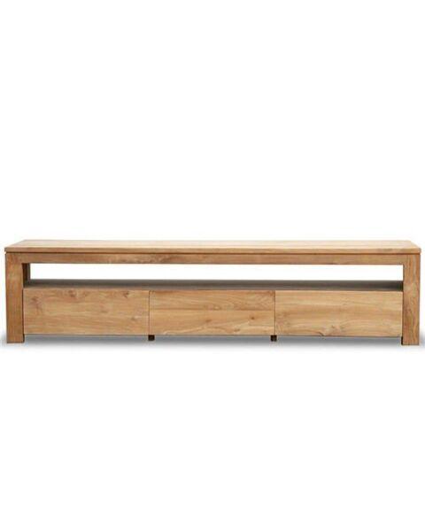 Teakhouten tv meubel Lofty 200cm