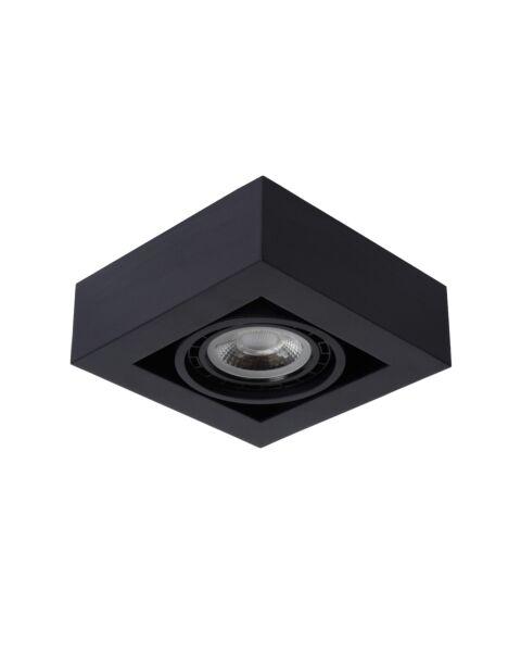 Plafondspot Zefix Zwart  1 Lamp