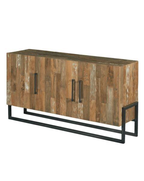 Industriële dressoir teakhout Potenza | Zen Lifestyle
