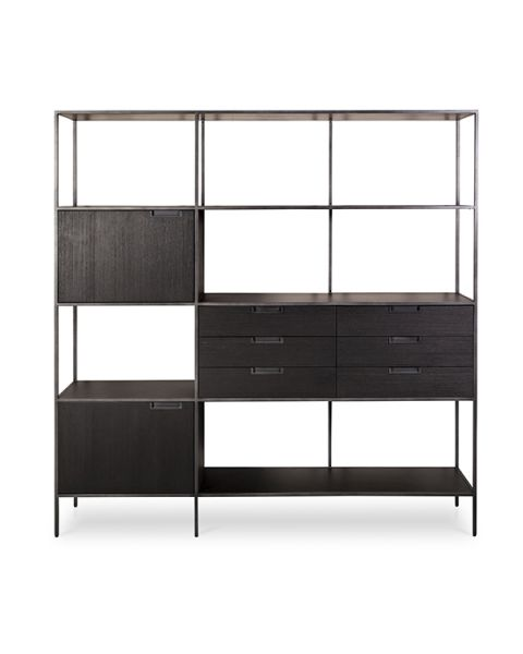 Moderne Boekenkast Fitchburg 180cm