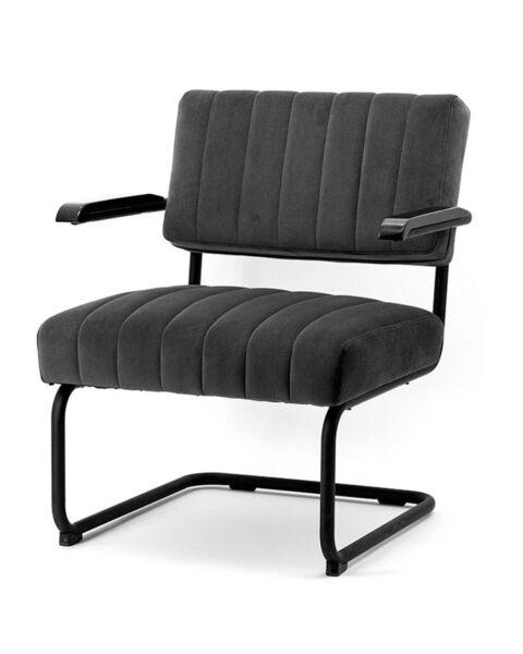 lounge stoel grijs