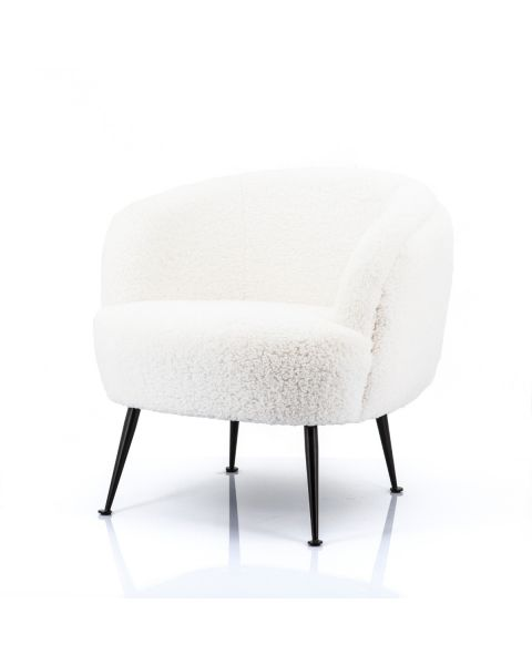 By-Boo Fauteuil Babe Wit