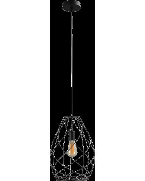 zwarte hanglamp cesto