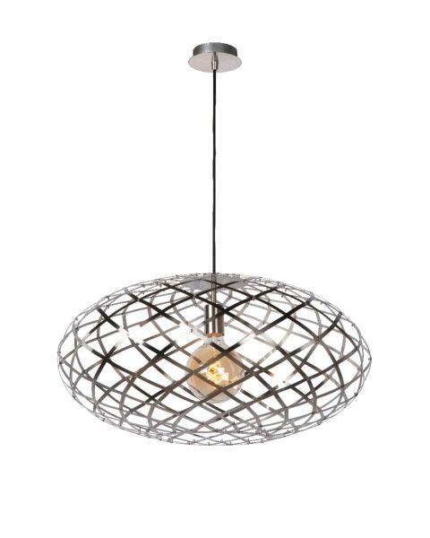 Trendy Hanglamp Wolf Mat Chroom