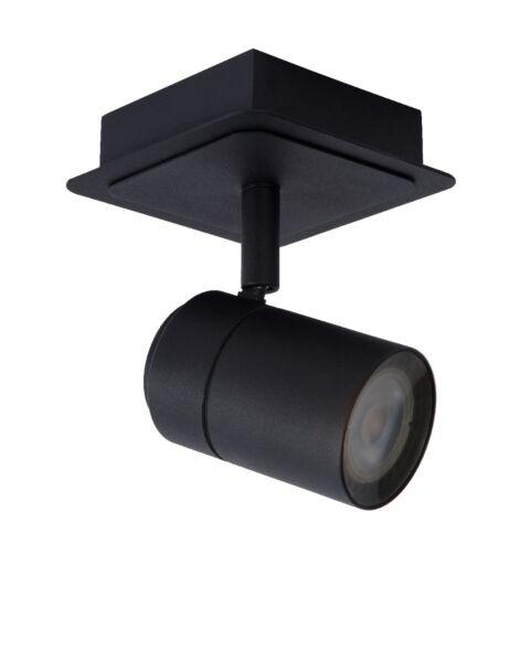 Plafondspot Lennert Zwart 1 Lichts