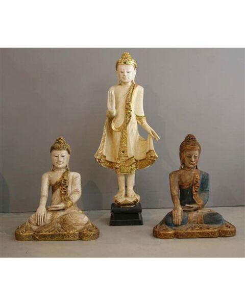 Buddha Sitting White Thailand