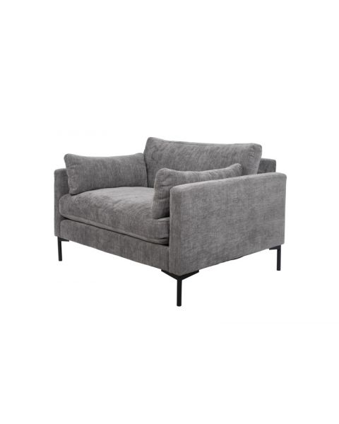 Zuiver Fauteuil Summer Antraciet