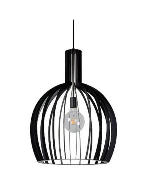 Scandinavische Hanglamp Mikaela Zwart