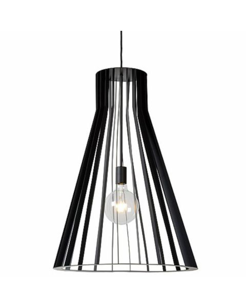 Scandinavische Hanglamp Mikaela Koker Zwart