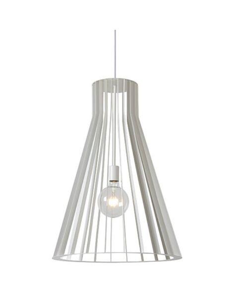 Scandinavische Hanglamp Mikaela Koker Wit