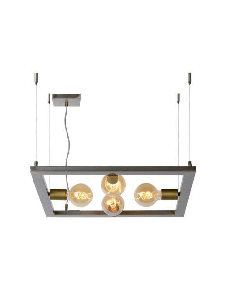 Thom Hanglamp Vierkant Natuurlijk IJzer