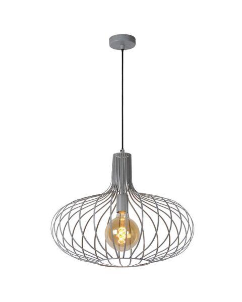 Vintage Hanglamp Manuela Grijs 65cm