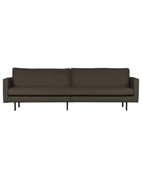 BePureHome Rodeo Stretched Bank 3-zits Warm Grey/brown