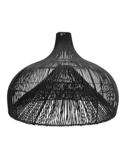hanglamp rotan zwart