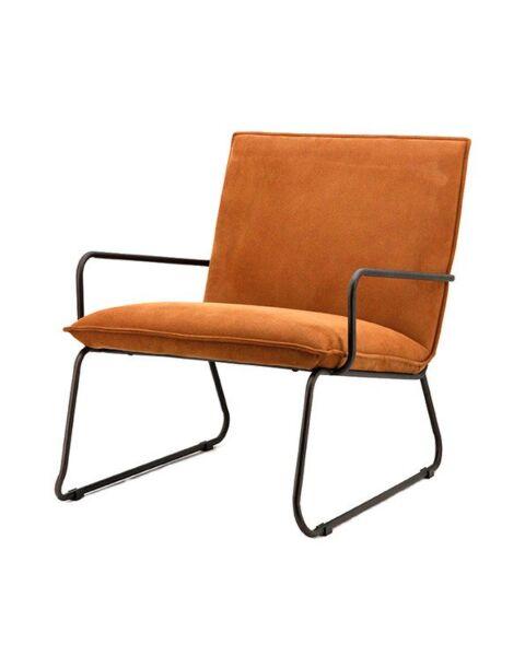 fauteuil cognac