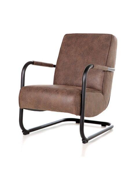 fauteuil bruin