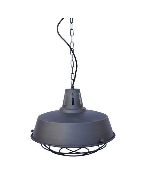 Industriële Hanglamp Prison Vintage Black