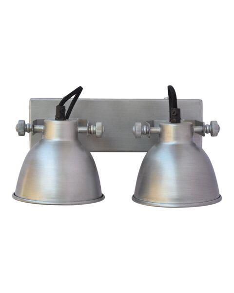 Industriële Wandlamp Industrial Double Antique Zink
