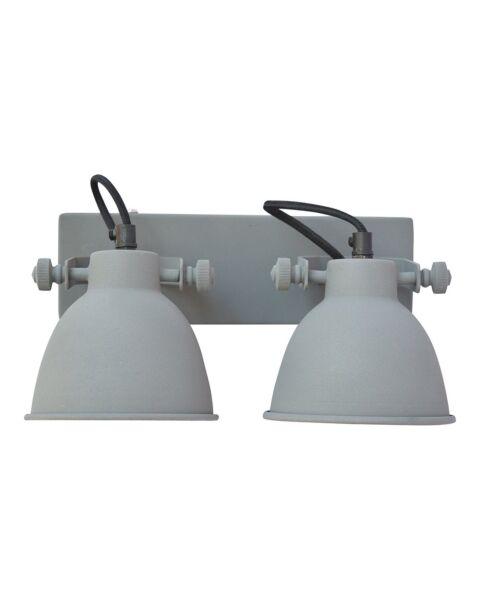 Industriële Wandlamp Industrial Double Antique
