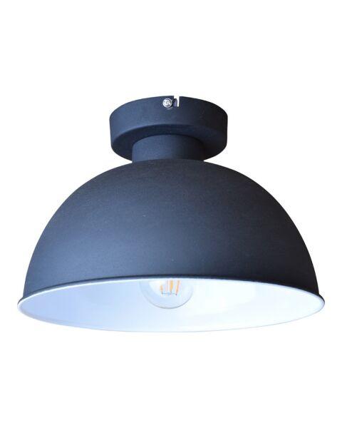 Industriële Plafondlamp Industrial Vintage Black