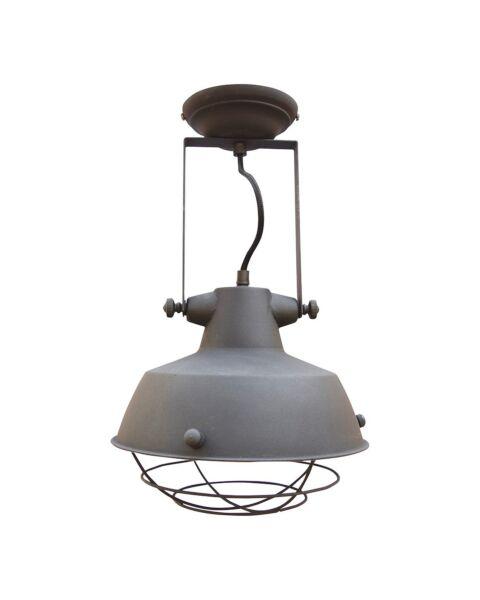 Industriële Plafondlamp Prison Vintage Black