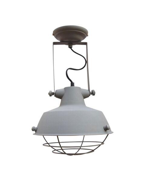 Industriële Plafondlamp Prison Vintage Grey