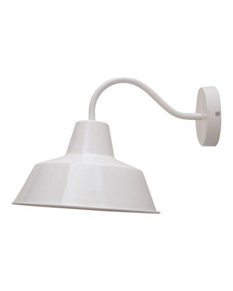 Industriële Wandlamp Shade Wit