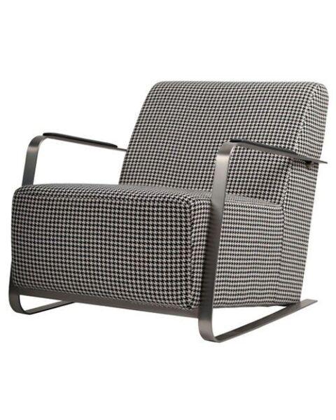 fauteuil zwart wit