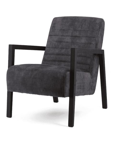 fauteuil antraciet