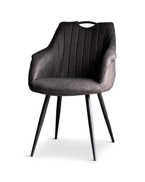 Industriële eetkamerstoel Royce Antraciet MX sofa
