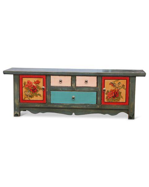dressoir china kleurrijk