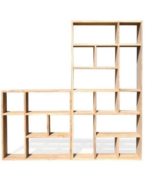 Moderne Boekenkast Basic Hout