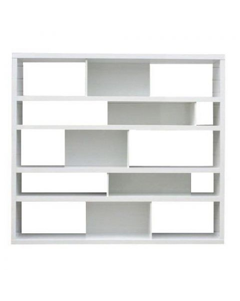 Moderne Boekenkast Pelle Wit