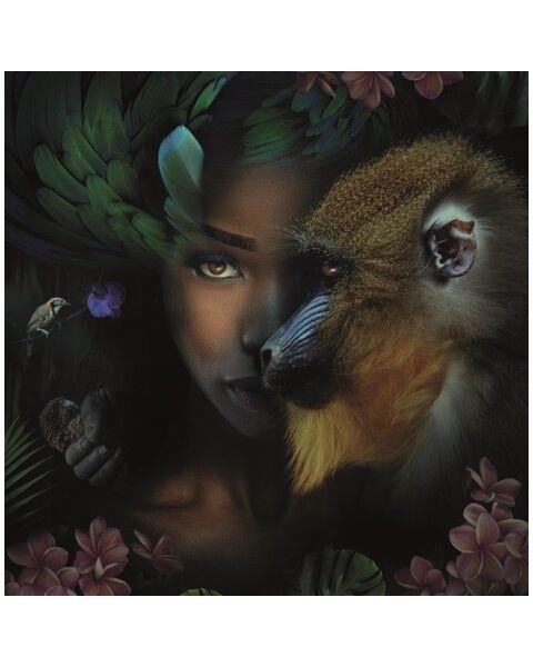 Mondiart Schilderij Monkey & Me