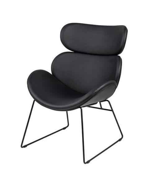 fauteuil zwart