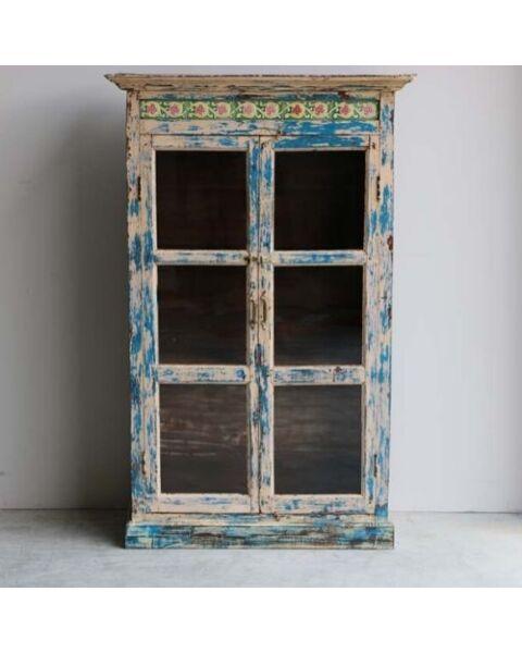 houten cabinet india oud