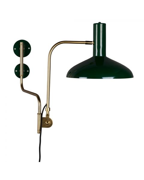 Dutchbone Devi wandlamp Groen