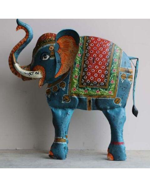 ijzeren olifant uit india