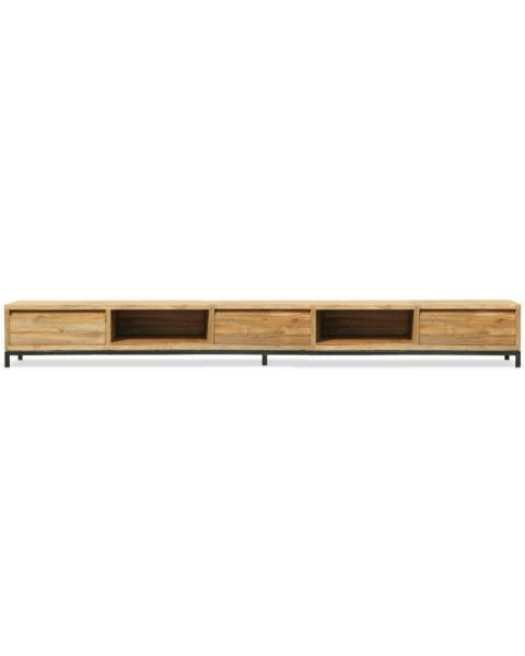 Teak TV-meubel Element 280cm