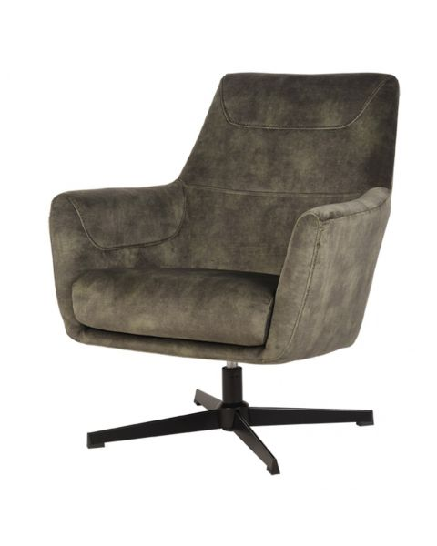 LABEL51 Fauteuil Toby Hunter Velours