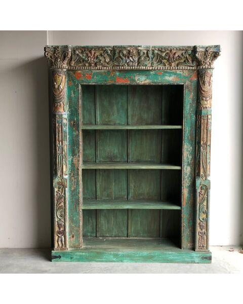 India Sun Wooden Bookshelf | Zen Lifestyle