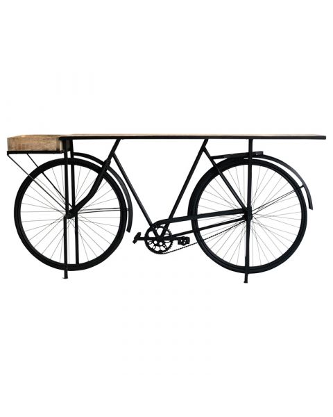 Black Cycle Console Bar