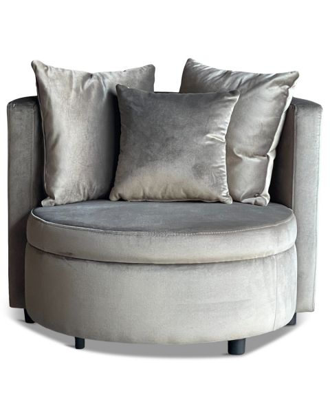 Luxe Lounge Fauteuil Vermont Taupe Small