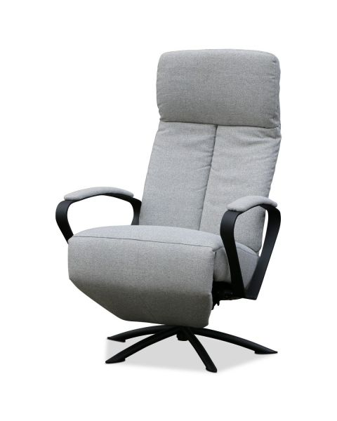 Moderne Relaxfauteuil Met Draaipoot Grijs