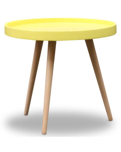 gele salontafel