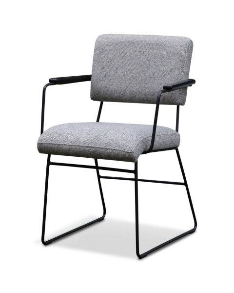 moderne stoel met armleuning