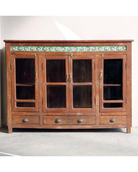 india dressoir oud hout