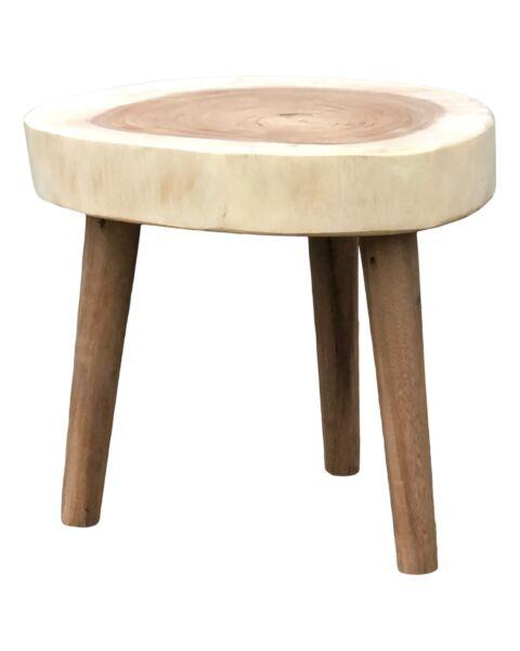 boomstam salontafel hout