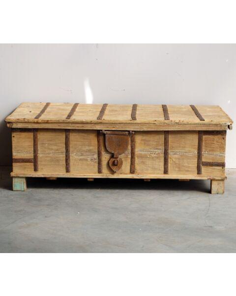 houten kist uit india